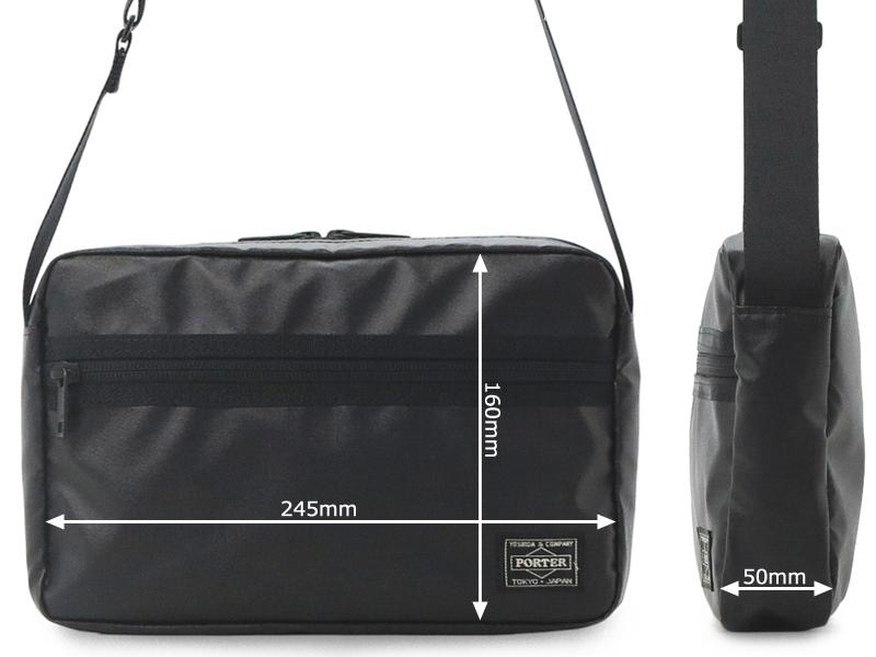【選べるノベルティ付】 ポーター タクティカル ショルダーバッグS(カラー:ブラック)654-07073 吉田カバン PORTER