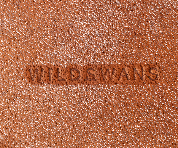 【選べるノベルティ付】ワイルドスワンズ フルグレインブライドル パーム ミニ財布(カラー:ダークステイン )