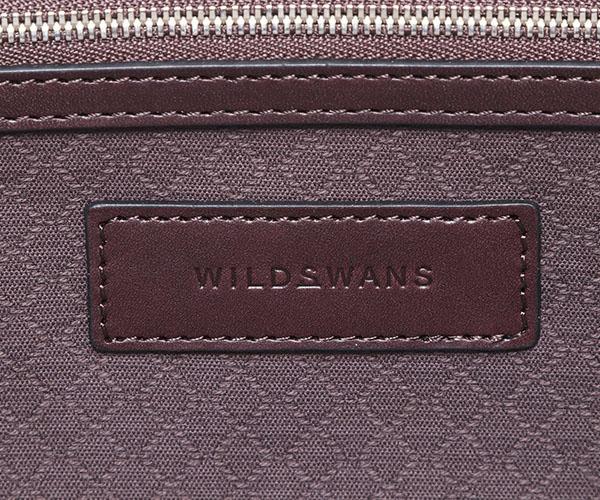 【選べるノベルティ付】ワイルドスワンズ イングリッシュブライドル ドラッカー トートバッグS(カラー:ダークブラウン)ENGLISH BRIDLE DRUCKER WILD SWANS