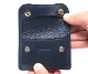 【選べるノベルティ付】ワイルドスワンズ イングリッシュブライドル タング コインケース(カラー:ネイビー) ENGLISH BRIDLE WILD SWANS