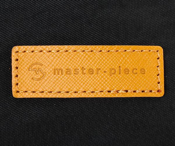 【選べるノベルティ付】 master-piece マスターピース リンクver.2 ウエストバッグ (カラー:ブラック) 02346-v2