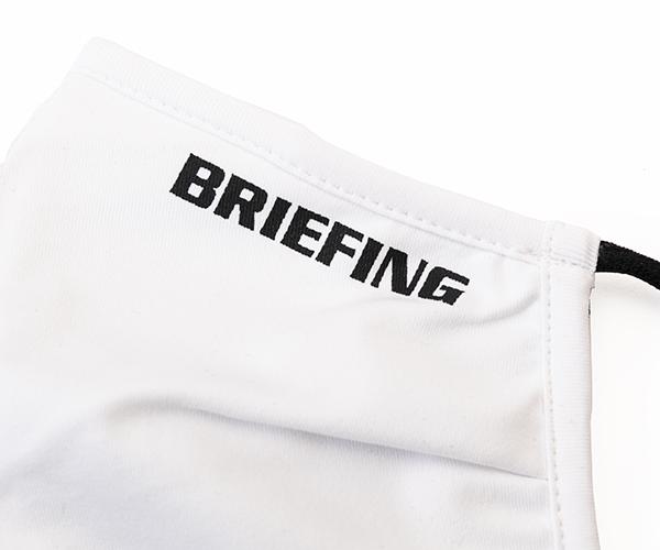 ブリーフィング BRIEFING マスク 3D WASHABLE MASK-2(カラー:ホワイト)BRG211F55