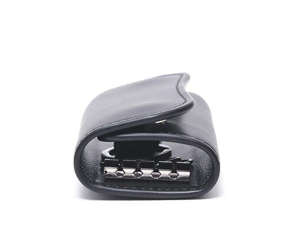 【選べるノベルティ付】ワイルドスワンズ イングリッシュブライドル クリッパー2 キーケース(カラー:ブラック) ENGLISH BRIDLE WILD SWANS