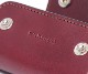 【選べるノベルティ付】ワイルドスワンズ イングリッシュブライドル クリッパー2 キーケース(カラー:バーガンディ) ENGLISH BRIDLE WILD SWANS