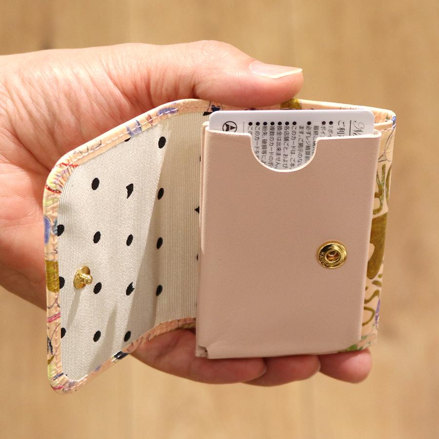 【選べるノベルティ付】 tsumori chisato ツモリチサト ハッピースタッフ ミニ財布 (カラー:ベージュ) 057528