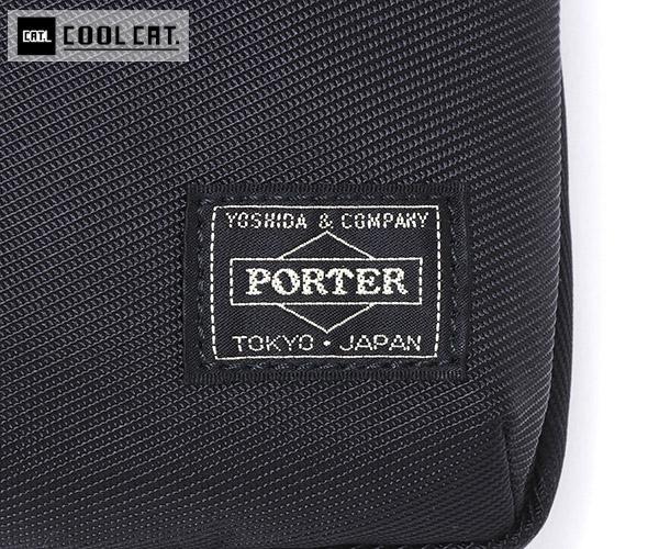 【選べるノベルティ付】 ポーター ユニット 縦型ショルダーバッグ(カラー:ブラック)784-05466 吉田カバン PORTER UNIT