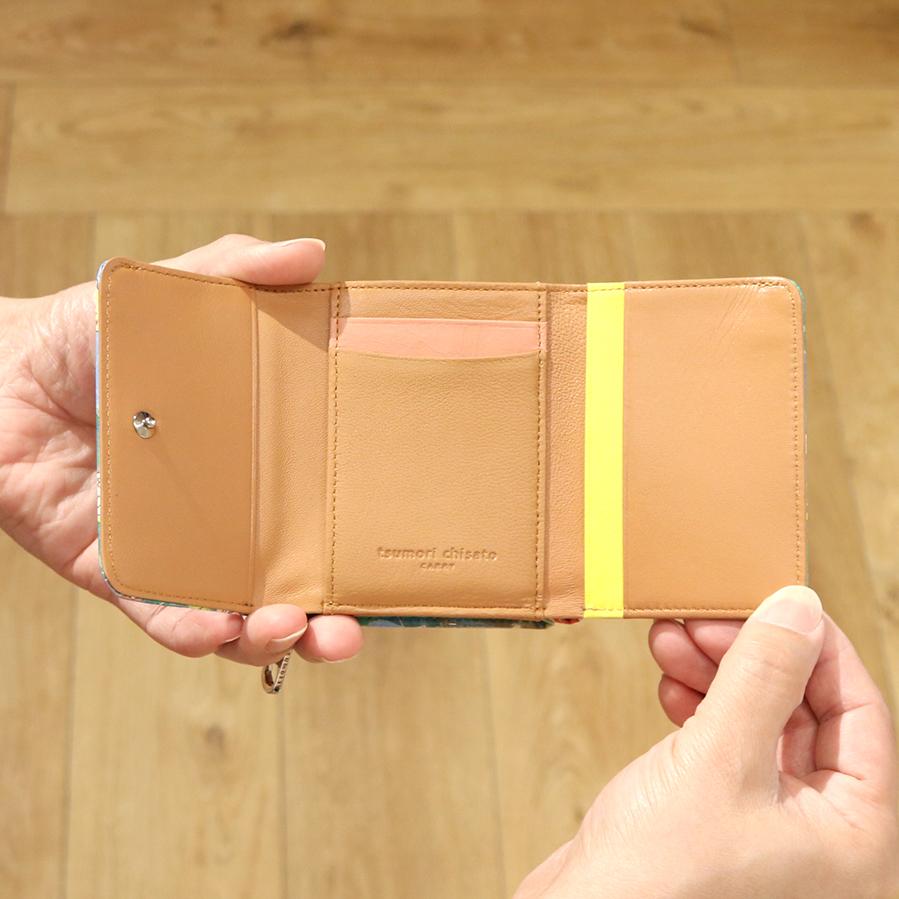 【選べるノベルティ付】 tsumori chisato ツモリチサト カモフラージュサファリ ミニ財布 (カラー:グリーン) 057576