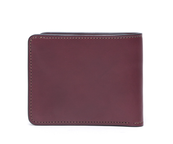 【選べるノベルティ付】ワイルドスワンズ イングリッシュブライドル グラウンダー 二つ折り財布(カラー:バーガンディ) ENGLISH BRIDLE WILD SWANS