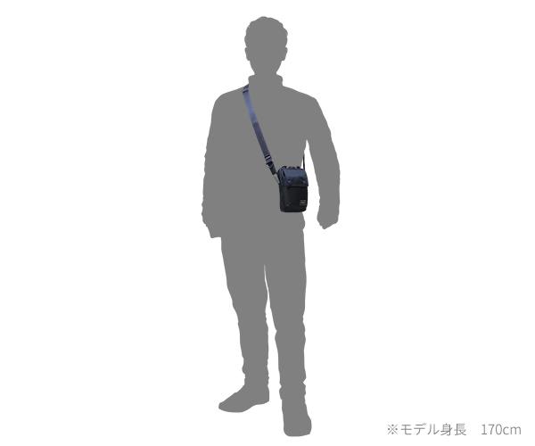 【選べるノベルティ付】 ポーター ユニット 縦型ショルダーバッグ(カラー:ネイビー)784-05466 吉田カバン PORTER UNIT