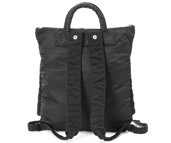 【選べるノベルティ付】 ポーター ウィーヴ 2WAYヘルメットバッグ (カラー:ブラック) 537-05347 吉田カバン PORTER WEAVE