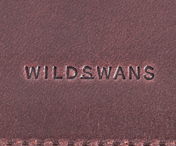 【選べるノベルティ付】ワイルドスワンズ イングリッシュブライドル ミニマル マネークリップ(カラー:ダークブラウン) ENGLISH BRIDLE WILD SWANS