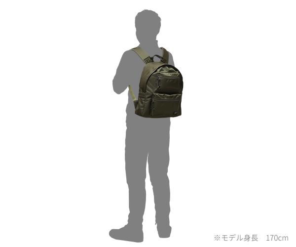 【選べるノベルティ付】 ポーター ユニット デイパック(カラー:カーキ)784-05470 吉田カバン PORTER UNIT