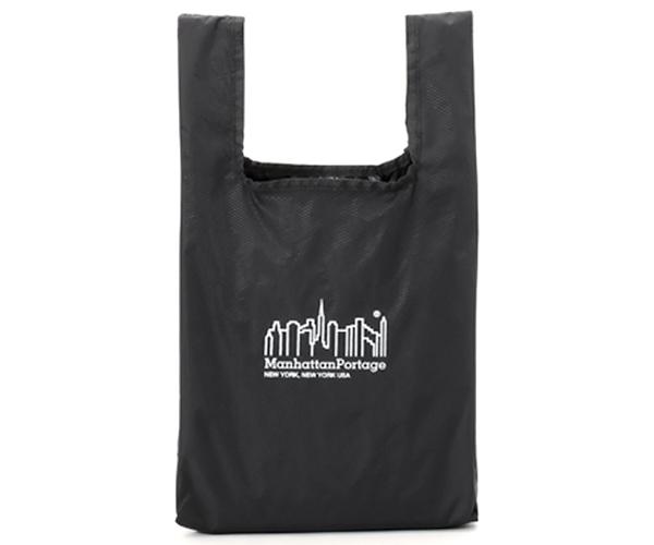 Manhattan Portage マンハッタンポーテージ パッカブルエコバッグ(カラー:ブラック)mp1367pkb