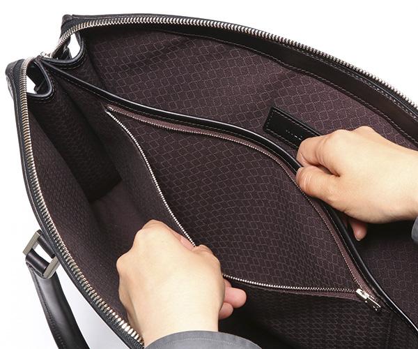 【選べるノベルティ付】ワイルドスワンズ イングリッシュブライドル サーキュロ ビジネスバッグ(カラー:ブラック)ENGLISH BRIDLE CIRCULO WILD SWANS