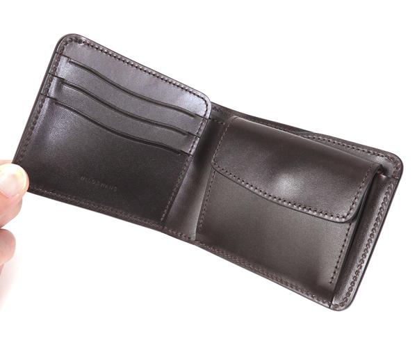 【選べるノベルティ付】ワイルドスワンズ クロコダイル グラウンダー 二つ折り財布(カラー:チョコ) WILD SWANS