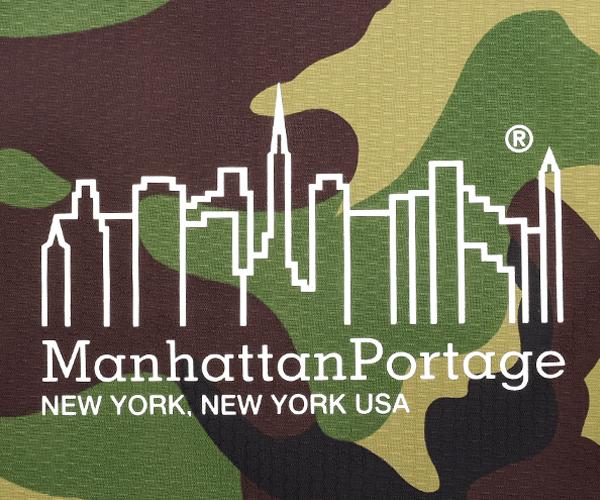 Manhattan Portage マンハッタンポーテージ パッカブルエコバッグ(カラー:カモ)mp1367pkb