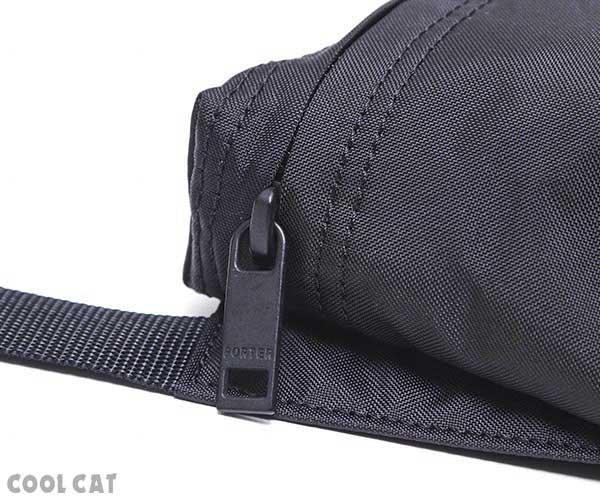 【選べるノベルティ付】ポーター フラット ショルダーバッグ(カラー:ブラック)861-16807 吉田カバン PORTER