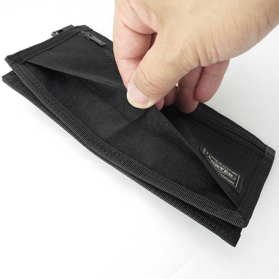 【選べるノベルティ付】 ポーター ハイブリッド 長財布 (カラー:ブラック) 737-17827 吉田カバン PORTER