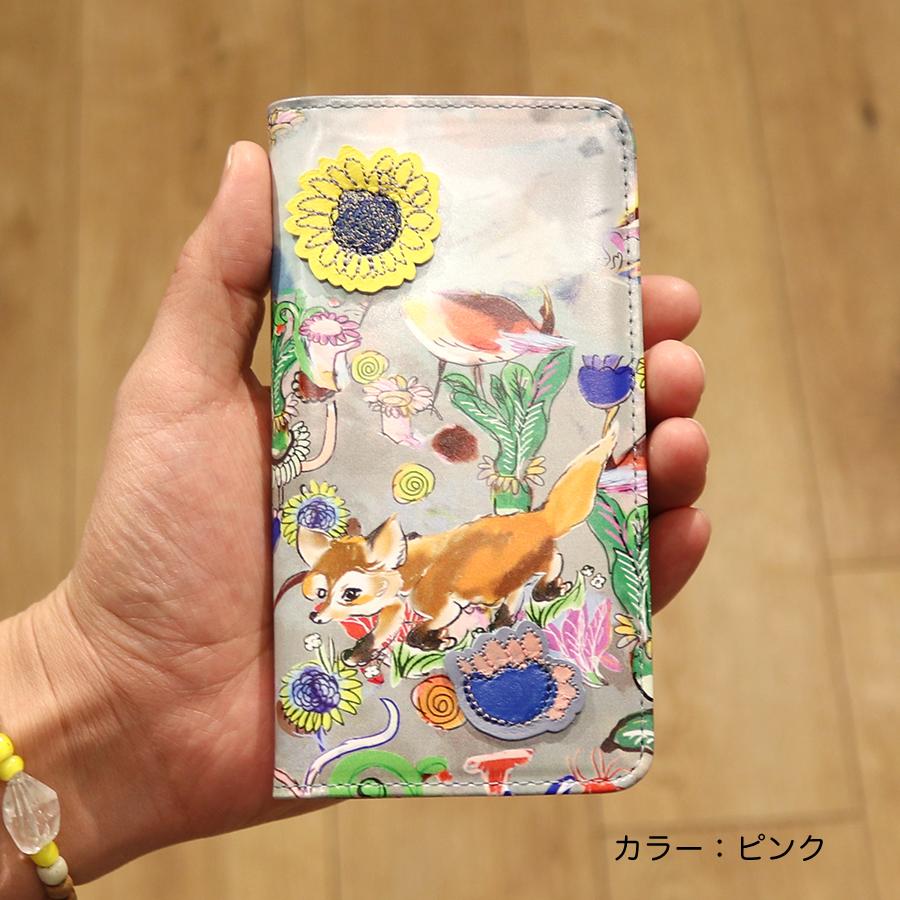 【選べるノベルティ付】 tsumori chisato ツモリチサト ガーデン iPhone11・iPhoneXRケース (カラー:ピンク) 59061