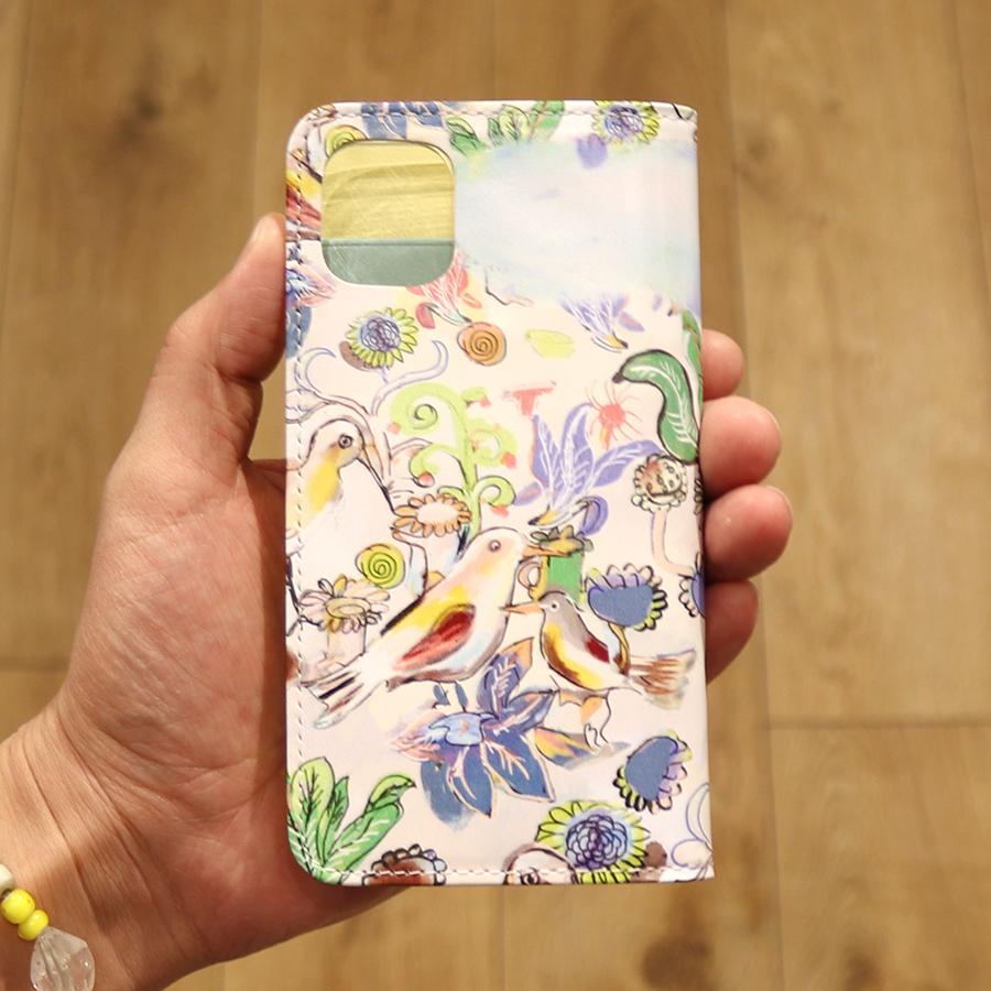 【選べるノベルティ付】 tsumori chisato ツモリチサト ガーデン iPhone11・iPhoneXRケース (カラー:グリーン) 59061