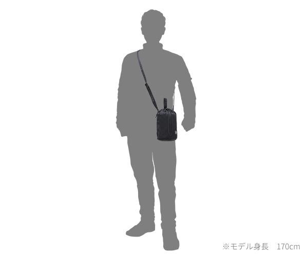 【選べるノベルティ付】ポーター デニム ドローストリングバッグ L(カラー:ブラック)892-15102 吉田カバン PORTER DENIM