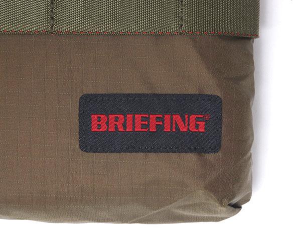 【選べるノベルティ付】 ブリーフィング BRIEFING サコッシュ SACOCHE M SL PACKABLE(カラー:オリーブ)BRM181205
