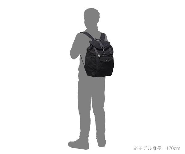【選べるノベルティ付】 ポーター クラッグ リュックサック(カラー:ブラック)540-19646 吉田カバン PORTER CRAG