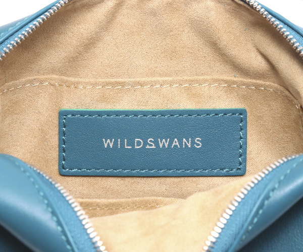 【選べるノベルティ付】ワイルドスワンズ モンパルナス リュエル ミニポーチ(カラー:オルテンシア)MONTPARNASSE RUELLE WILD SWANS