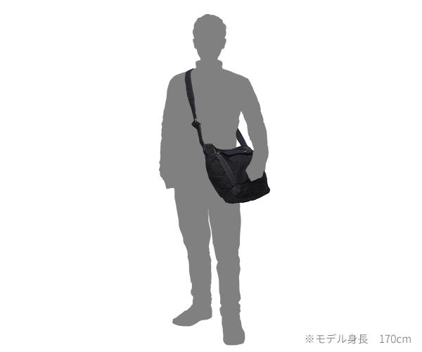 【選べるノベルティ付】 ポーター クラッグ ショルダーバッグ L(カラー:ブラック)540-19644 吉田カバン PORTER CRAG