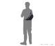 【選べるノベルティ付】ポーター デニム ウエストバッグ S(カラー:ブラック)892-15105 吉田カバン PORTER DENIM