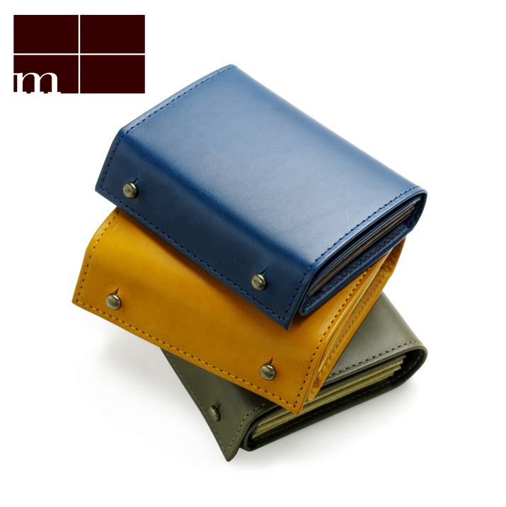 エムピウ m+ ミッレフォッリエ 2P30 ミニ財布 MF2p30