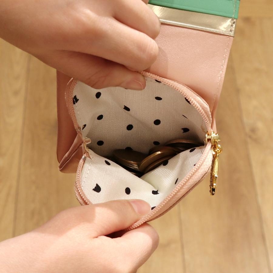 【選べるノベルティ付】 tsumori chisato ツモリチサト ハッピースタッフ ミニ財布 (カラー:ブラック) 57525
