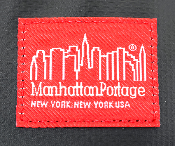 【選べるノベルティ付】Manhattan Portage マンハッタンポーテージ ウエストバッグ(カラー:ブラック)mp1101mvl