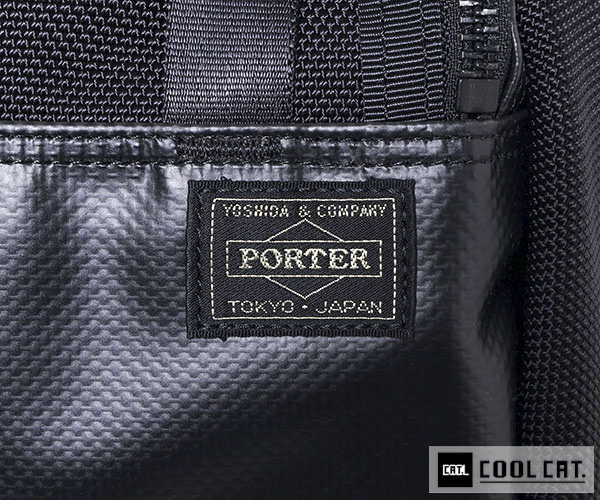 【選べるノベルティ付】 ポーター ヒート リュック L(カラー:ブラック)703-06301 吉田カバン PORTER