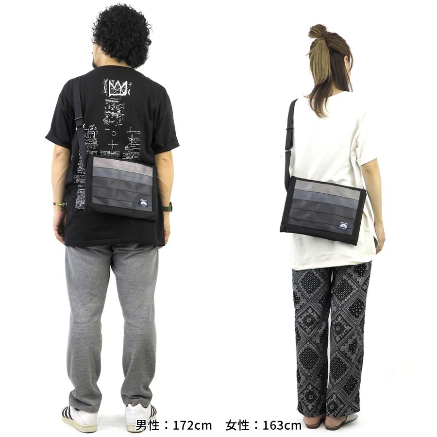 【選べるノベルティ付】 クールキャットオリジナル シートベルト サコッシュL(カラー:ブラック)