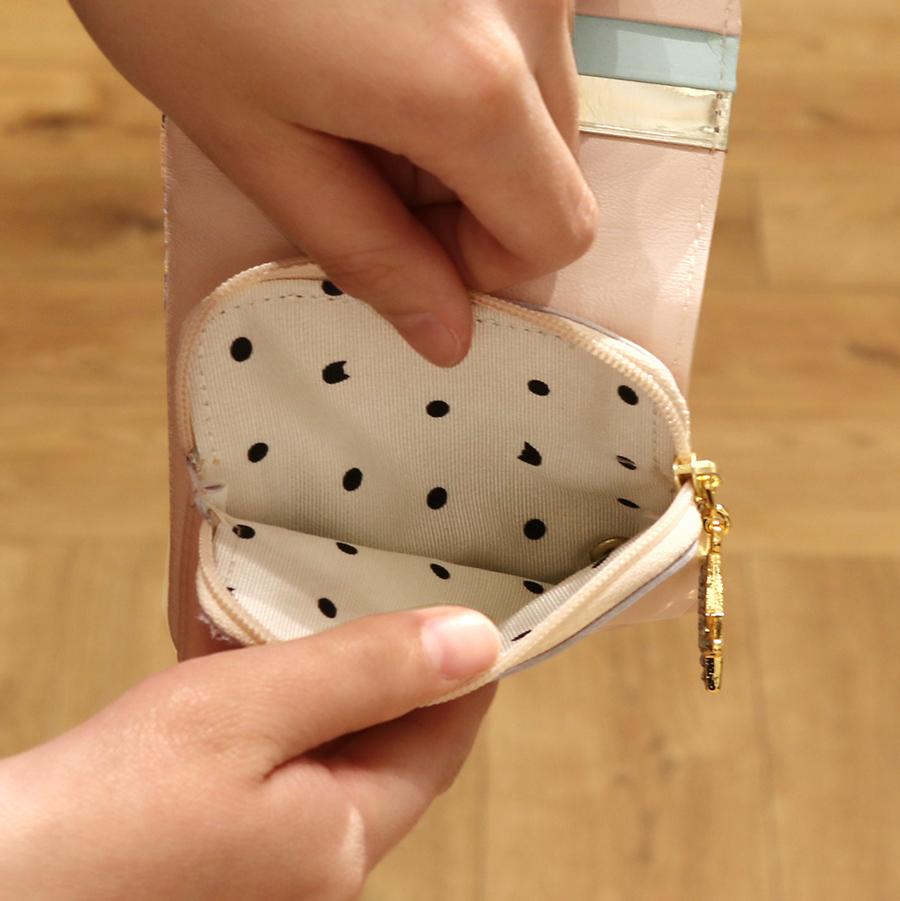 【選べるノベルティ付】 tsumori chisato ツモリチサト ハッピースタッフ ミニ財布 (カラー:ベージュ) 57525