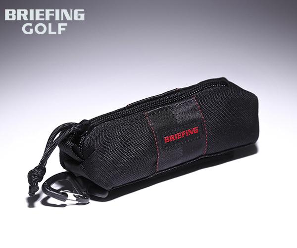 ブリーフィング BRIEFING ボールポーチ BALL POUCH(カラー:ブラック)BRG201G06