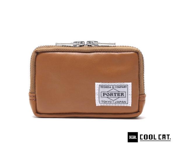 ポーター フリースタイル コインマルチケース(カラー:キャメル) 707-07178 吉田カバン PORTER