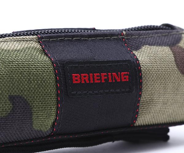 ブリーフィング BRIEFING ボールポーチ BALL POUCH(カラー:グリーンカモ)BRG201G06