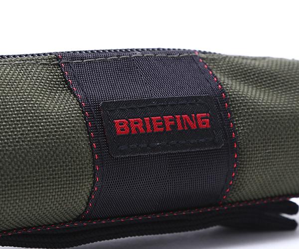 ブリーフィング BRIEFING ボールポーチ BALL POUCH(カラー:レンジャーグリーン)BRG201G06
