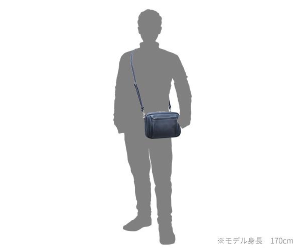 【選べるノベルティ付】ワイルドスワンズ モンパルナス ポーキ 2WAYポーチショルダーバッグ(カラー:ネイビー)MONTPARNASSE POCHI WILD SWANS