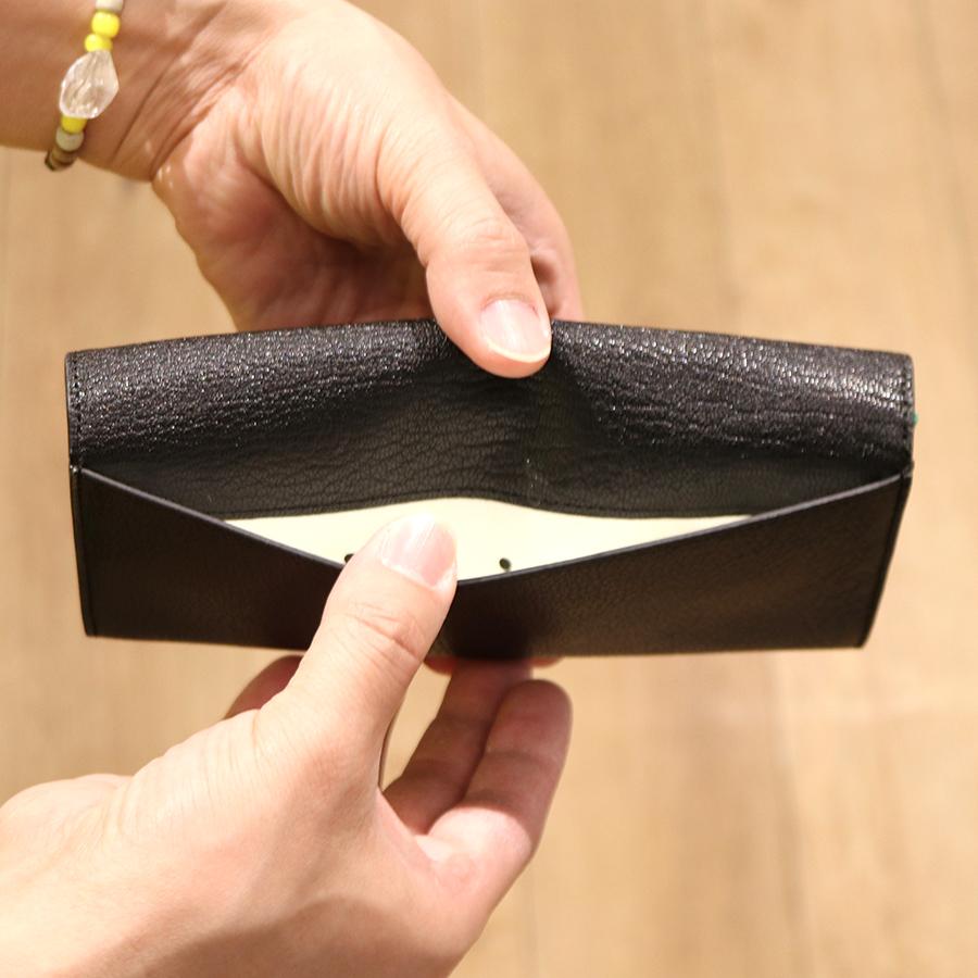 【選べるノベルティ付】 tsumori chisato ツモリチサト フレンチゴート 長財布 (カラー:ブラック) 57592