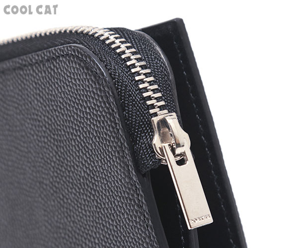 【選べるノベルティ付】ポーター エイブル 2つ折りミニ財布(カラー:ブラック)030-03439 吉田カバン PORTER