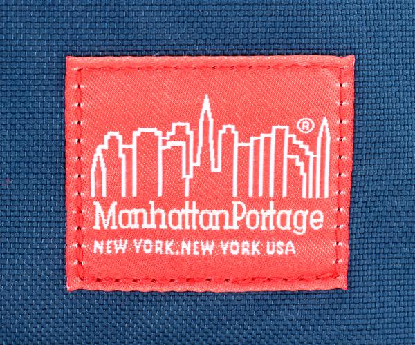 【選べるノベルティ付】Manhattan Portage マンハッタンポーテージ ウエストバッグ S(カラー:ネイビー)mp1109