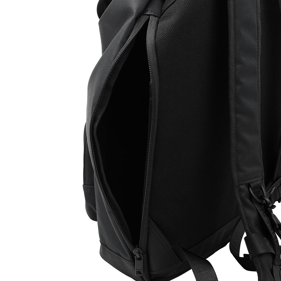 【選べるノベルティ付】ポーター フロント リュックサック (カラー:ブラック) 687-17030 吉田カバン PORTER