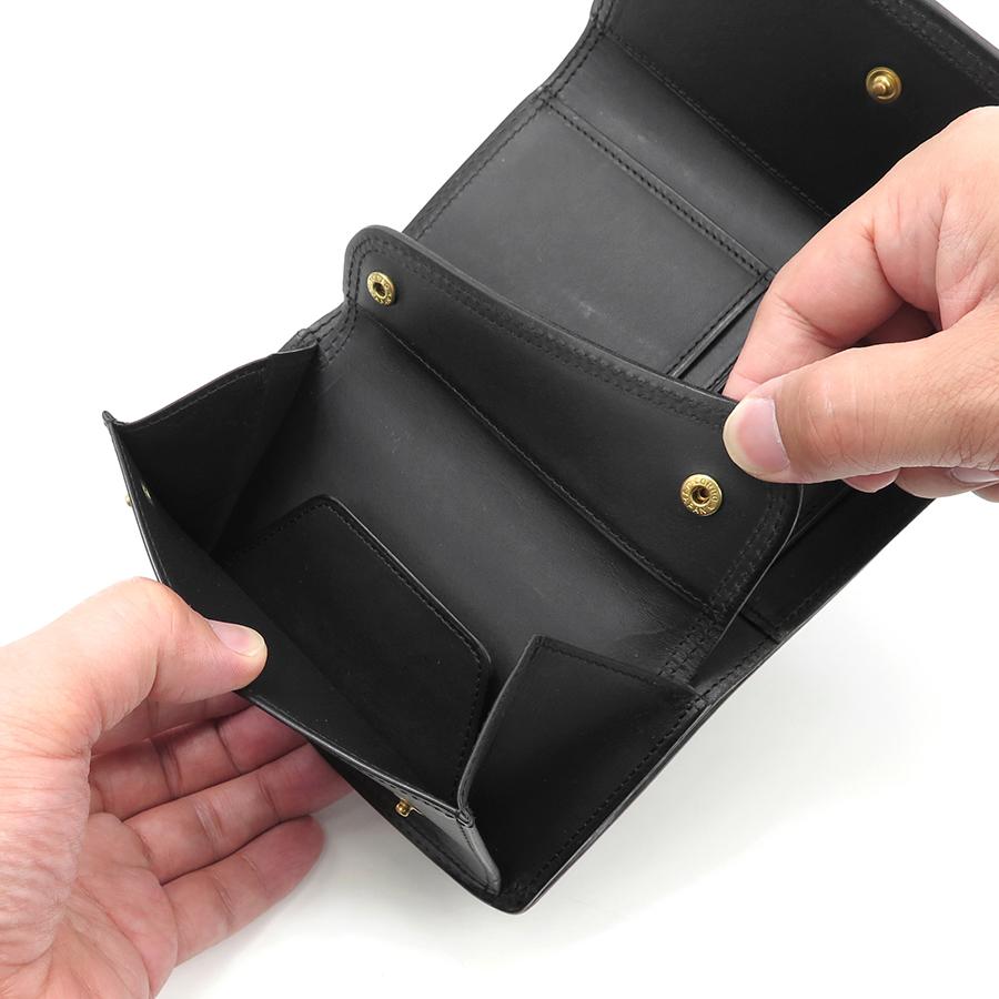 コルボ CORBO スレート 三折財布 8lc-0410