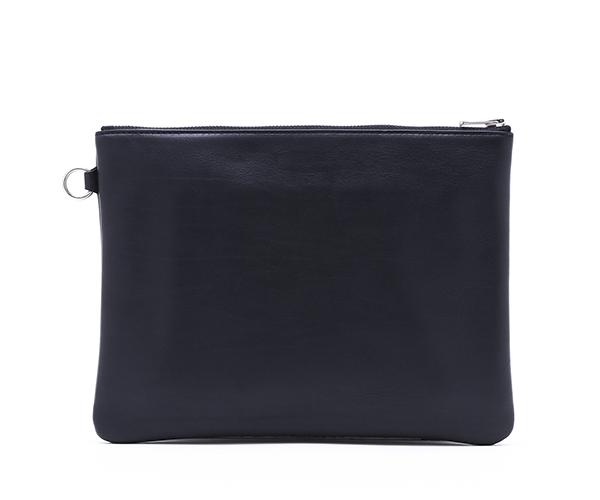 【選べるノベルティ付】ワイルドスワンズ モンパルナス フラット L ポーチ(カラー:ブラック)MONTPARNASSE FLAT  WILD SWANS