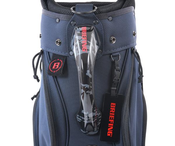 【選べるノベルティ付】 ブリーフィング BRIEFING ゴルフ/キャディバッグ CR-5 #02 AIR(カラー:ディープシー)BGW203D02