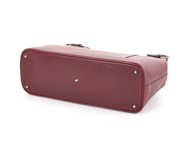 【選べるノベルティ付】ワイルドスワンズ イングリッシュブライドル ドラッカー トートバッグ(カラー:バーガンディ)ENGLISH BRIDLE DRUCKER WILD SWANS