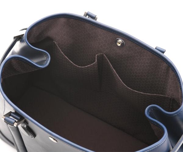 【選べるノベルティ付】ワイルドスワンズ イングリッシュブライドル ドラッカー トートバッグ(カラー:ネイビー)ENGLISH BRIDLE DRUCKER WILD SWANS